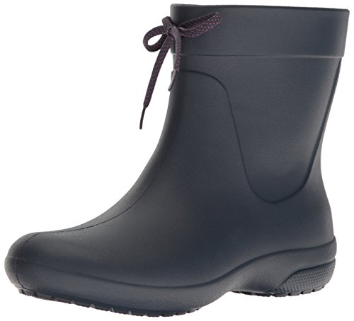 crocs Freesail Shorty Rain Boots, Damen Gummistiefel, Blau (Navy), 37-38 EU