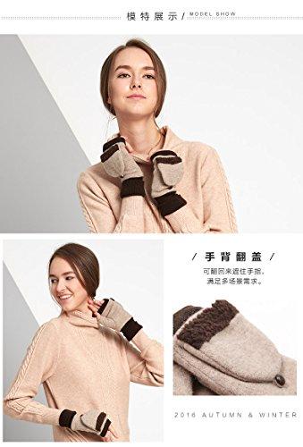 COMME LA VIE - Gant - Femme taille unique Camel