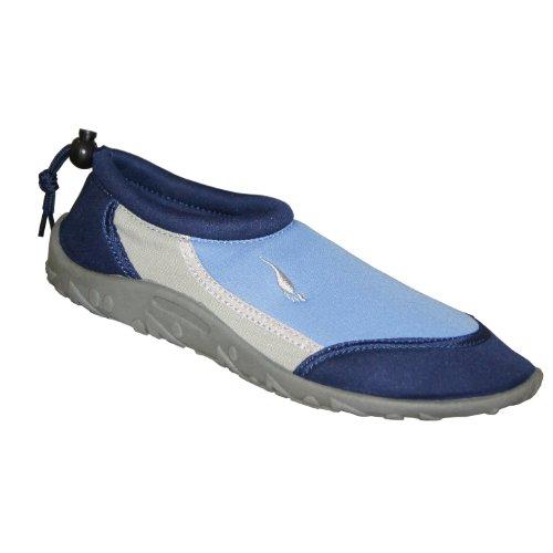 Gumbies – Adult Aqua Shoes (UK 3, Blue)