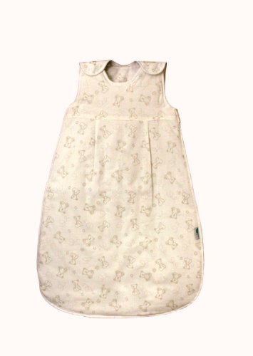 Slumbersac sacco a pelo invernale 2.5 tog per bambini 70cm/0-6 mesi - little teddy