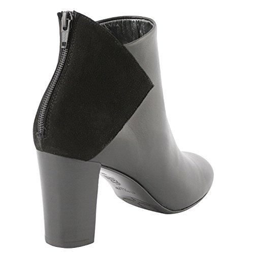 Exclusif Paris  Exclusif Paris Isa, Chaussures femme Bottines femme,  Damen Stiefel & Stiefeletten Schwarz - Schwarz