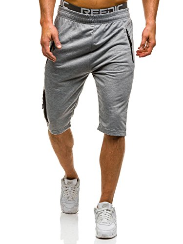BOLF Herren Shorts Bermudas Kurzhose Fitnesshose Sporthose Jogging 7G7 Motiv