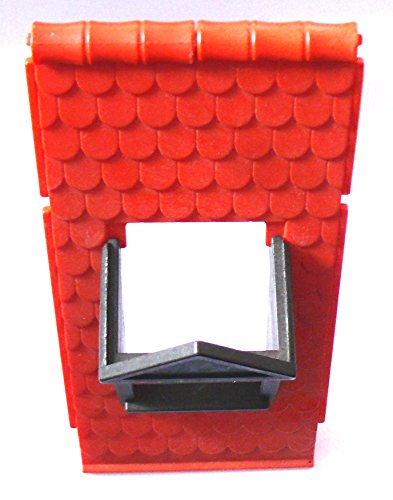 playmobil ® - Burg Fachwerkhaus - Dach und Gaube - Fenster - 2 Dachsc