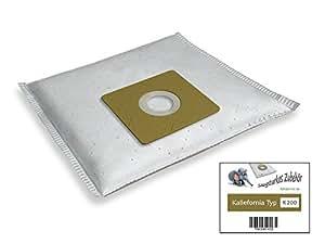 Kallefornia k200 de 20 sacs pour aspirateurs bomann bS 9011 cB
