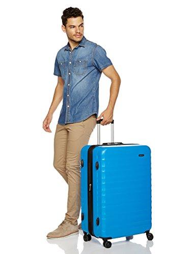 Zoom IMG-2 amazonbasics valigia trolley rigido con