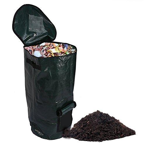 Compost Bolsa, caseras orgánico Fermento Compost bolsa, bolsa de eliminación de residuos de cocina Compost sigue siendo papelera