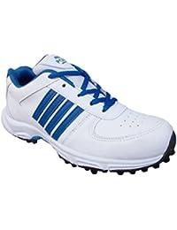 Port Men's Octan PU Rubber Sole Cricket Shoes