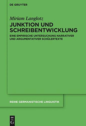 300 Pop-art (Junktion und Schreibentwicklung: Eine empirische Untersuchung narrativer und argumentativer Schülertexte (Reihe Germanistische Linguistik 300))