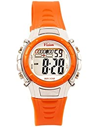 Vizion Digital Multi-Color Dial Children's Watch -8516-2