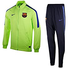 Nike Fcb M Nk Dry Sqd Trk Suit W Chándal Fc Barcelona, Hombre, Verde (Ghost Green / Ghost Green / Game Royal), 2XL