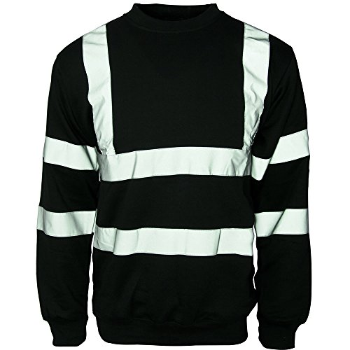 Army And Workwear Sweat-Shirt de sécurité à col Rond Haute visibilité pour Homme - - XXXX-Large