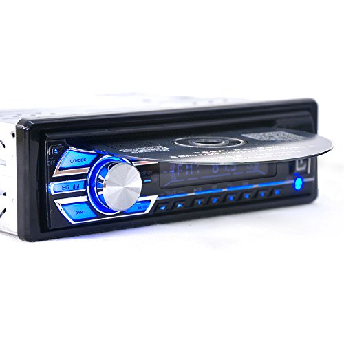 Aux Auto Mit Stereo-cd-player (1 Din 12 V Auto Stereo Haupteinheit CD DVD Player Radio MP3/USB/SD/AUX/FM/IPOD/IPHONE von hengweili)