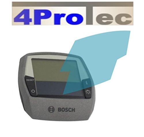 4ProTec 4X Crystal Clear klar Schutzfolie für Bosch Intuvia Performance Line Displayschutzfolie Bildschirmschutzfolie Schutzhülle Displayschutz Displayfolie Folie -