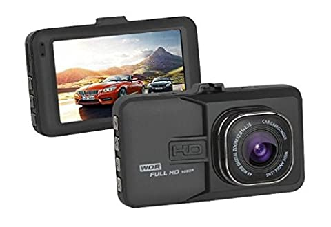 HD 1080P Dash Cam Ultra-Wide 170 Degree Lens Night Vision 3 Inch Screen High-Quality Metal Casing Functions: G-Sensor, Loop Recording, Motion Detection Dashboard Camera Recorder Car Dvr