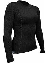 Berkner Thermo Langarmshirt Damen / Skiunterwäsche / Funktionsunterwäsche - SILVER BION forte - Thermoactiv