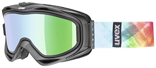 Uvex g.gl 300 TO Skibrille, Black Mat, One Size