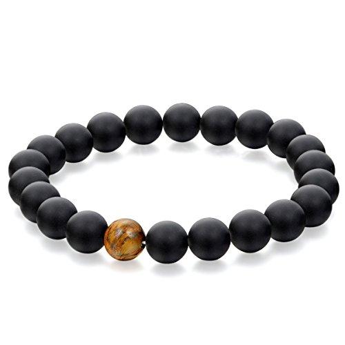 flongo-pietre-nere-braccialetto-buddista-buddismo-tibetano-buddha-conti-cattivi-stile-naturale-sempl