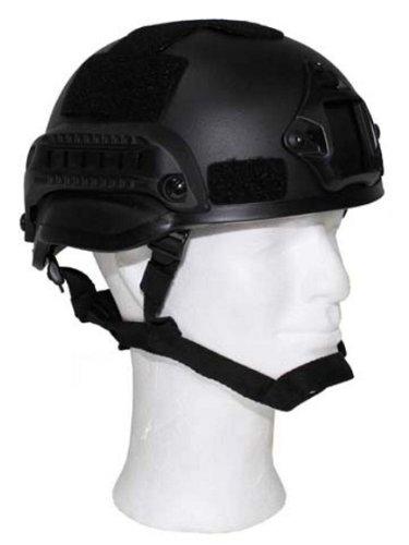 US Helm MICH 2002 schwarz zu Militär a