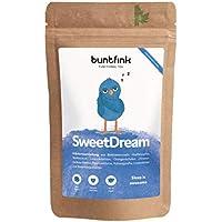 """""""SweetDream"""" Tee von Buntfink, 100% natürlicher Abendtee: Baldrian + Hopfen + Reishi + Ashwagandha, 60g Kräutertee aus Deutschland"""