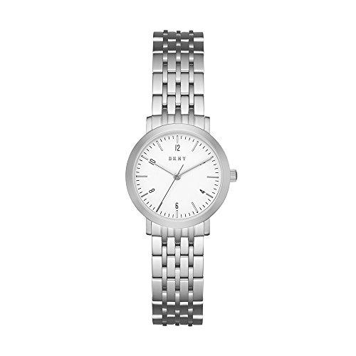 e46e274fdc2b DKNY Reloj Analógico para Mujer de Cuarzo con Correa en Acero Inoxidable  NY2509