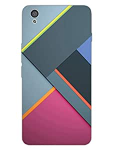 Geomatrical Pattern - Abstract Pattern - Hard Back Case Cover for OnePlus X - Superior Matte Finish - HD Printed Cases and Covers