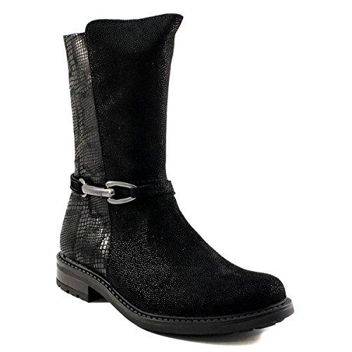 Boots fille - BELLAMY - Noir - 16455001 - Millim Noir