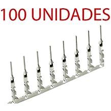 100X Conector DUPONT MACHO 2.54MM Cable de Puente