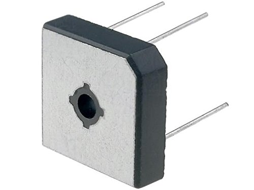 4x GBPC5006W Bridge rectifier 600V 50A MBR-25W wire Ø1,0mm - 600v Wire