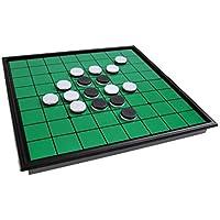 Juego de mesa magnético (tamaño compacto de viaje): Reversible / Oshello - piezas magnéticas, tablero plegable, 20x20x2cm, Mod. SC54500 (DE)