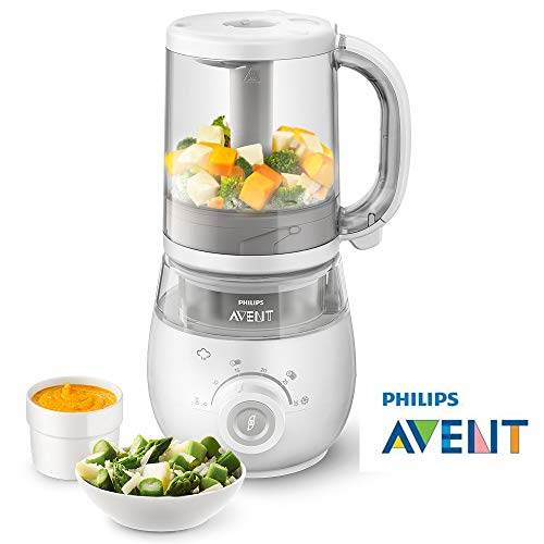 Philips Avent SCF875/01 4-in-1 Babynahrungszubereiter - weiß (IMPORT UK)