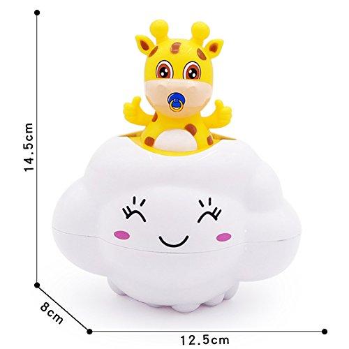 Amyove Baby Badespielzeug, Wasserspielzeug Wasserfall Wasserstation Badewanne Brunnen Wasser Dusche für Baby Kinder Kleinkinder Geschenk