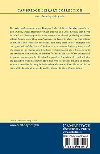 A Narrative of Three Years' Residence in France, Principally in the Southern Departments, from the Year 1802 to 1805 3 Volume Set: A Narrative of ... Library Collection - Travel, Europe)