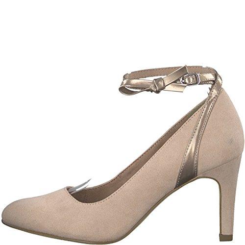 Tamaris Damen Sling-Pumps 24433-21,Frauen Slingback Pumps,Abendschuhe,Trachten-Schuh,Knöchelriemen,festlich,feminin,sexy,Stiletto 8.5cm - 2