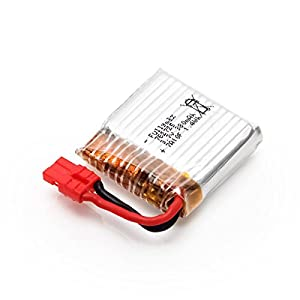 YUNIQUE UK ® 3 Piece 3.7v 380mAh Lipo Battery for Syma X21 X21W WIFI FPV Mini Drone Spare Parts