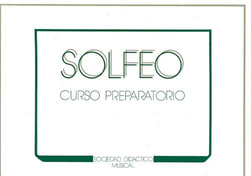 SDM - Curso de Solfeo Vol. Preparatorio (Apaisado)