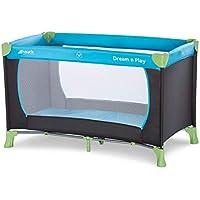 Hauck Dream N Play Lit Parapluie 120 x 60 cm de la naissance à 15 kg avec Matelas Pliant e Sac de Transport Pliable Transportable Léger