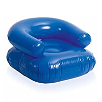 eBuyGB Inflatable Beach Lounge Chair - Lounger Lilo Pool Air Bed Float