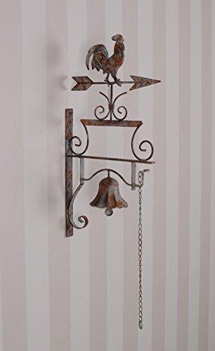 Gartenfigur Engel Metallengel Shabby Chic Figur Blumentöpfe