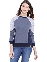 Campus Sutra Women's Cotton Sweatshirt