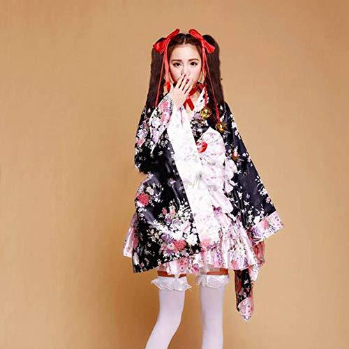 Animation Kostüm - ASDF J 6 Stück Full Animation kostüm schwer Sakura - Kimono dienstmädchen süße Lolita