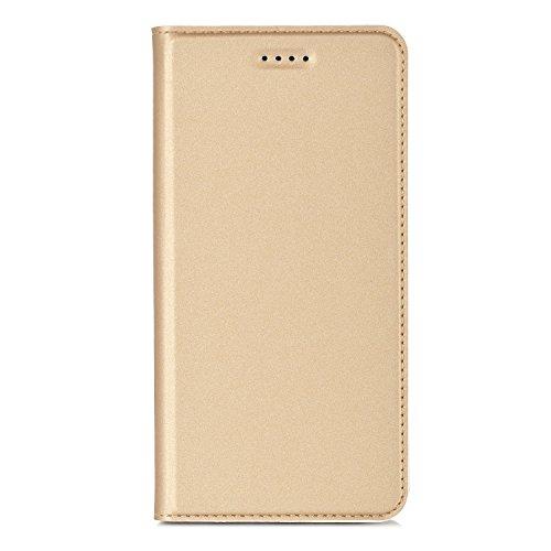 LG K10 2017 Cover - IVSO Slim Flip Cover Custodia