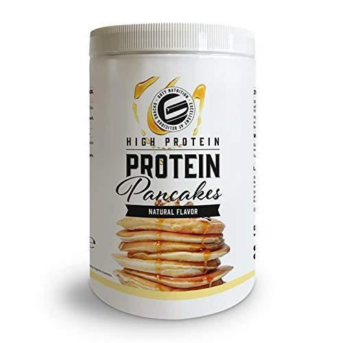 High Protein Pancake Mix | schnell zubereitet | Eiweiß Pfannkuchen Mix | Low Fat, High Protein Frühstück | GOT7 Pulver - 500g (Natural - Neutral) -