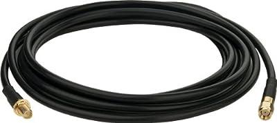 TP-Link TL-ANT24EC12N - Cable alargador de antena, 12 metros, negro