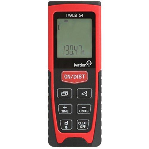 Handheld IVALM Ivation - medidor láser de distancia medir ideal para todos los espacios