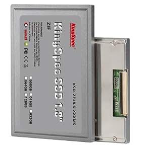 (101) KingSpec SSD (1,8 pouces), 64 Go de disque dur ZIF (HDD), disque à semi-conducteurs