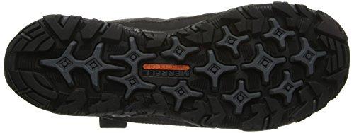 Merrell Polarand Rove Waterproof, Bottes de pluie homme Noir (Black)