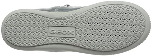 Geox J Gioia 2fit C, Ballerines Fille Argent (Silverc1007)