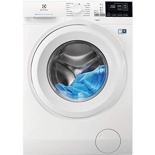 Electrolux EW7W4862LB lavadora Carga frontal Independiente Blanco A - Lavadora-secadora (Carga frontal, Independiente, Blanco, Izquierda, Giratorio, T