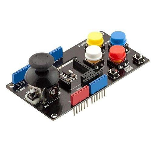 XHX-intelligent Joystick Shield with Wireless Adapter (xBee, APC200, NRF24L) fürArduino UNO, Mega (Assembled) - Stack-sensor