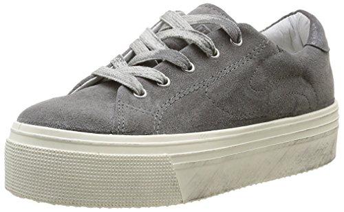 No Box  Alma,  Sneaker donna Grigio Gris (Suede Grey) 40